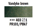 ������� ��� ��� 1/2pan,vandyke brown