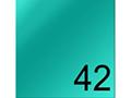 Боя за текстил опак 45мл, shimmer turquoise 42