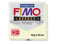 Глина с изпичане FIMO-effect,56гр,fluo natural(night glow)