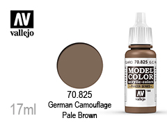 Бои за моделисти Model color 17мл.German Camouflage pale brown