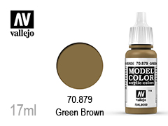 ��� �� ��������� Model color 17��-green brown