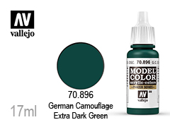 Бои за моделисти Model color 17мл.German Camouflage green dark