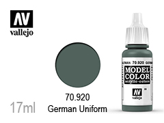 ��� �� ��������� Model color 17��-German uniform