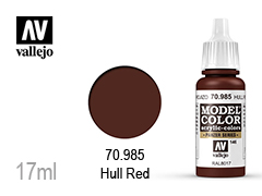 ��� �� ��������� Model color 17��-hull red