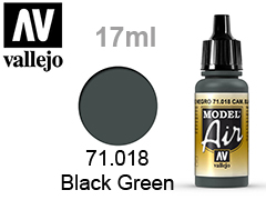 Model Air-боя за аерографи 17мл.Camouflage black green