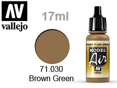 Model Air-��� �� ��������� 17��.Green brown