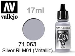 Model Air-��� �� ��������� 17��.Silver metallic