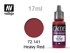 Боя за модели Game color 17мл-Heavy red