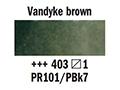 ������� �������� 1/2pan �.1,vandyke brown