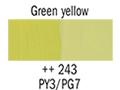 ������� 50��.1�., greenish yellow N:243