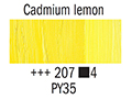 Маслена боя Рембранд 40мл,4с.,cadmium yellow lemon 207