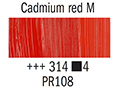 Маслена боя Рембранд 40мл,4с,cadmium red medium 314