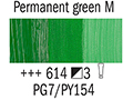 Маслена боя Рембранд 40мл,3с,permanent green medium 614
