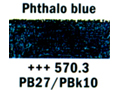 ��� ��� ������ ������, phthalo blue 3